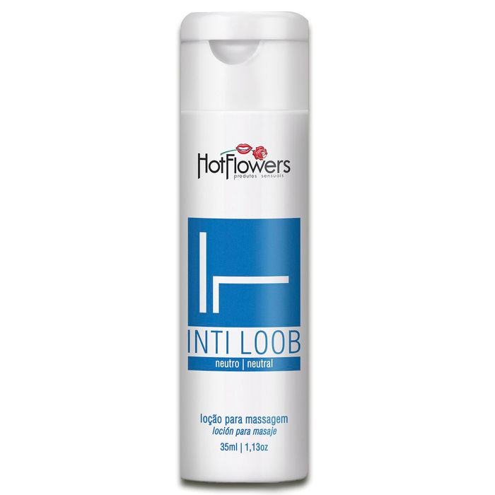 INTI LOOB LOÇÃO MASSAGEM 35ML HOT FLOWERS