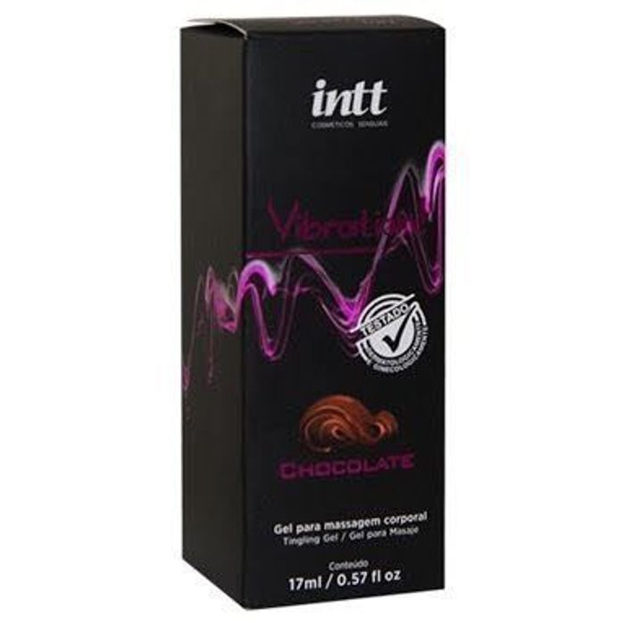 Vibration Gel Excitante  Chocolate 17g Intt