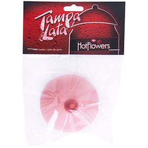 Tampa Para Lata Seio Natural Hot Flowers