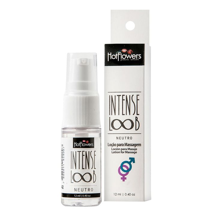 Intense Loob Loção 12ml Hot Flowers