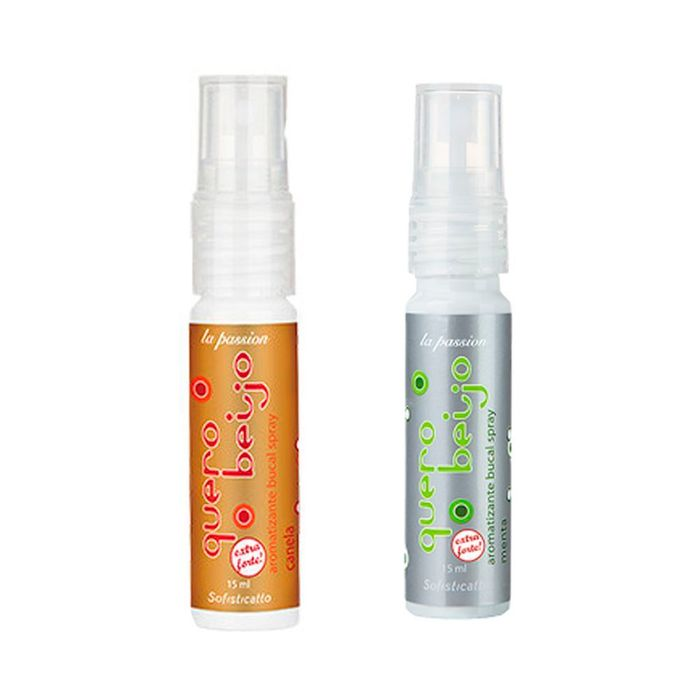Quero Beijo Spray Bucal 15ml Sofisticatto