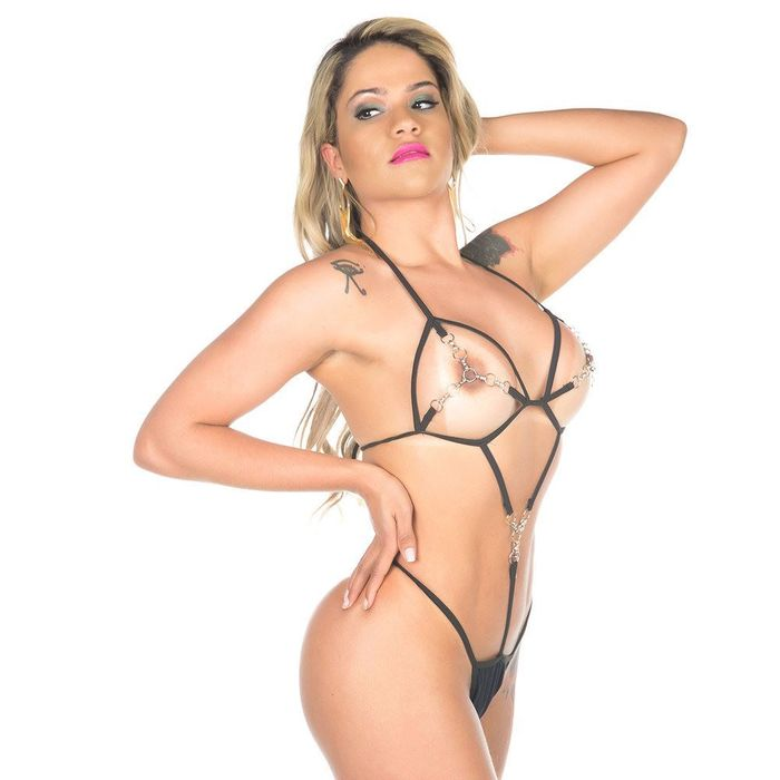 Kit Mini Fantasia Anastacia Pimenta Sexy