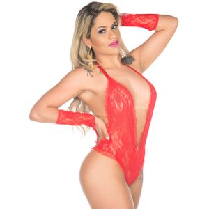 BODY SENSUAL FASHION RENDADO PIMENTA SEXY
