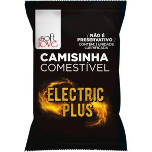 CAMISINHA ELECTRIC PLUS FUNCIONAL SOLÚVEL SOFT LOVE