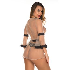 Robe Illusion Pimenta Sexy