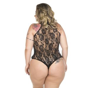 BODY DUQUESA PLUS SIZE PIMENTA SEXY