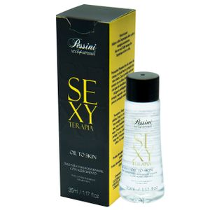 ÓLEO MASSAGEM SEXY TERAPIA HOT 35ML PESSINI