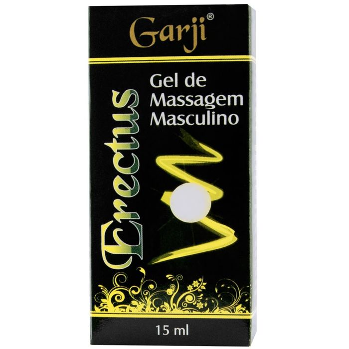 ERECTUS BISNAGA GEL EXCITANTE MASCULINO 15ML GARJI