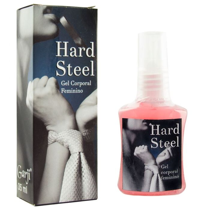 Hard Steel Super Excitante Feminino 35ml Garji
