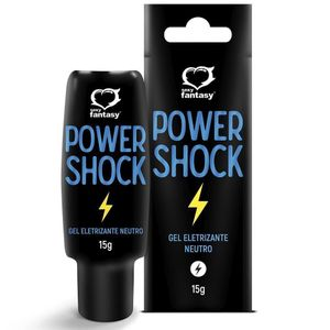POWER SHOCK GEL ELETRIZANTE 15G SEXY FANTASY