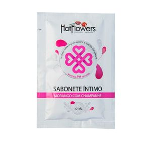 SABONETE ÍNTIMO SACHÊ 8 ML HOT FLOWERS