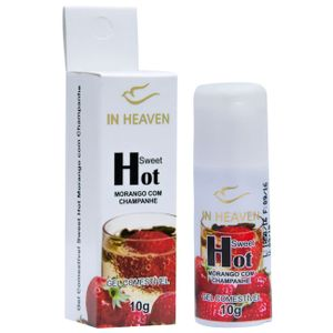 In Heaven Gel Comestível Hot 10ml Intt
