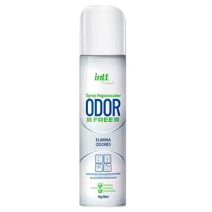 Odor Free Spray Higienizador íntimo 166ml Intt