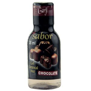 + Sabor Hot Gel Comestível 35ml Garji