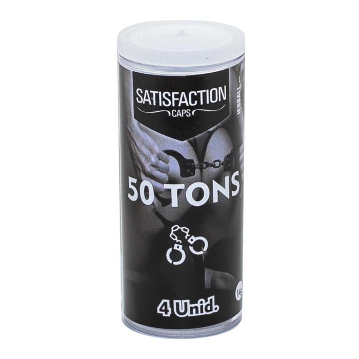 Bolinhas 50 Tons 4 Unidades Satisfaction