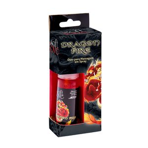 Gel Spray Excitante Unissex Aquece Intensamente Dragon Fire - Soft Love