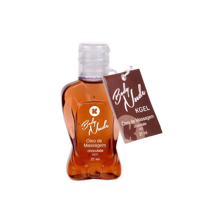 Óleo de Massagem Body Nude - K Gel - HOT Chocolate