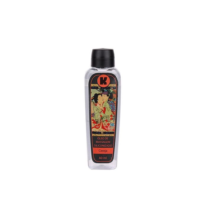 Óleo de Massagem Siliconado Cereja - K Gel - 60ml