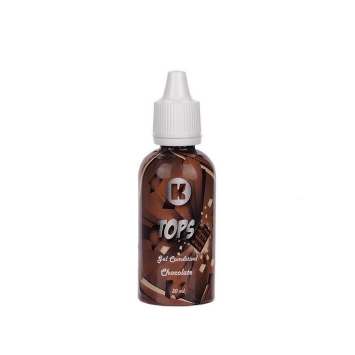 Gel Comestível HOT Tops - K Import - Chocolate