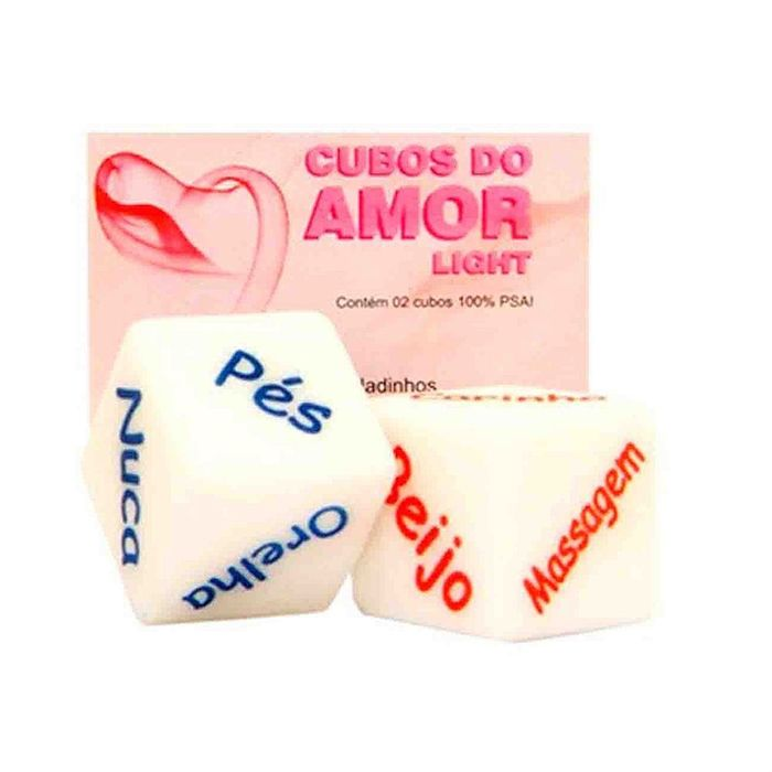 CUBOS DO AMOR LIGHT  DIVERSÃO AO CUBO