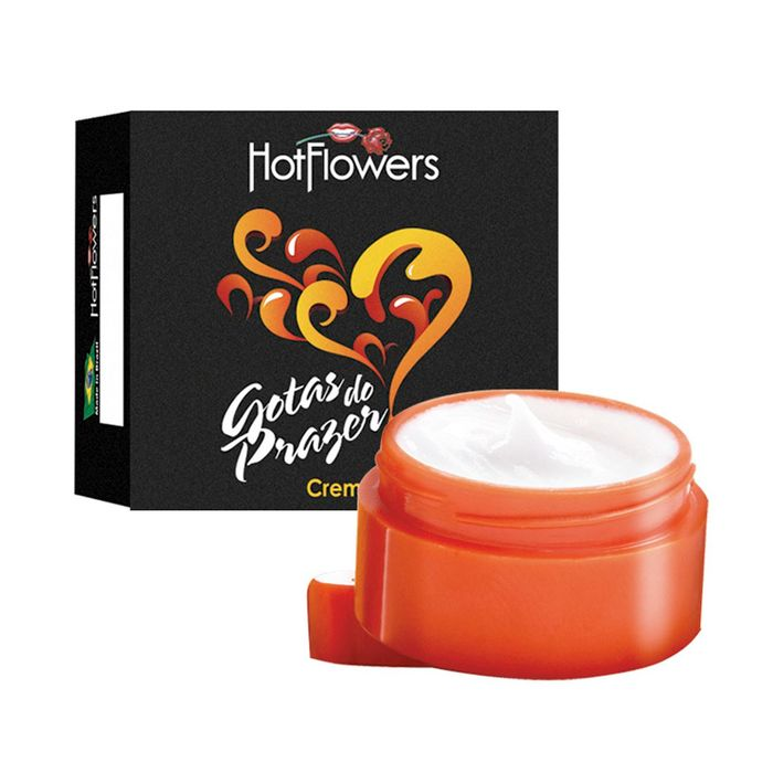 Gotas Do Prazer Creme 4g Hot Flowers