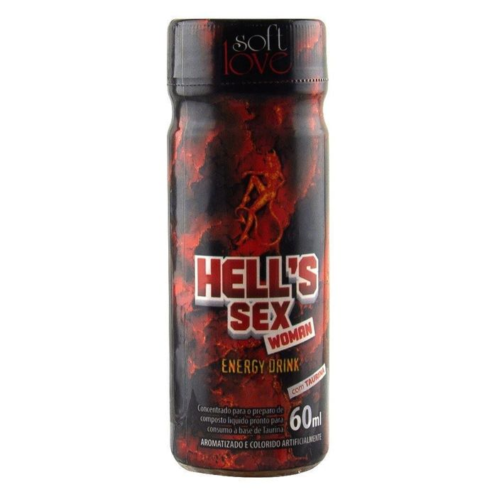 Hells Sex Woman Energy Drink 60ml Soft Love