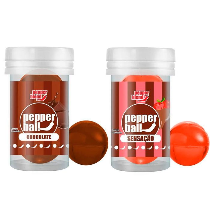 Pepper Ball Plus Comestível Dupla 3g Pepper Blend