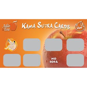 Raspadinhas Kama Sutra Cards - Hot