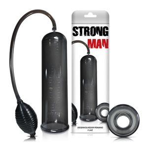 Bomba Peniana Strong Man Manual com Pera