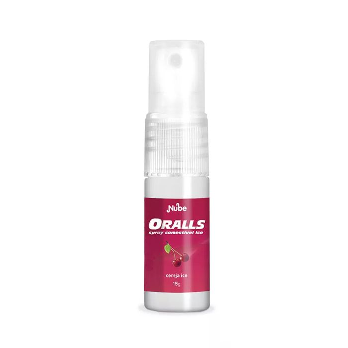Oralls Cereja Ice Spray Refrescante Bucal Nube