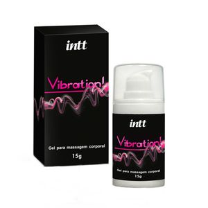 Gel Vibrador Liquido Vibration Intt 17g - Chocolate