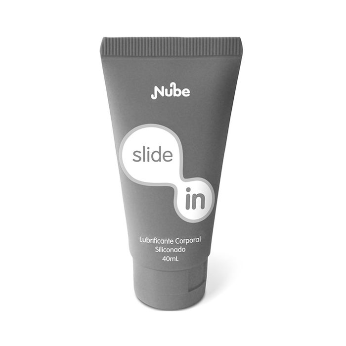 Gel Lubrificante Íntimo Siliconado Slide In - Nube - 40ml