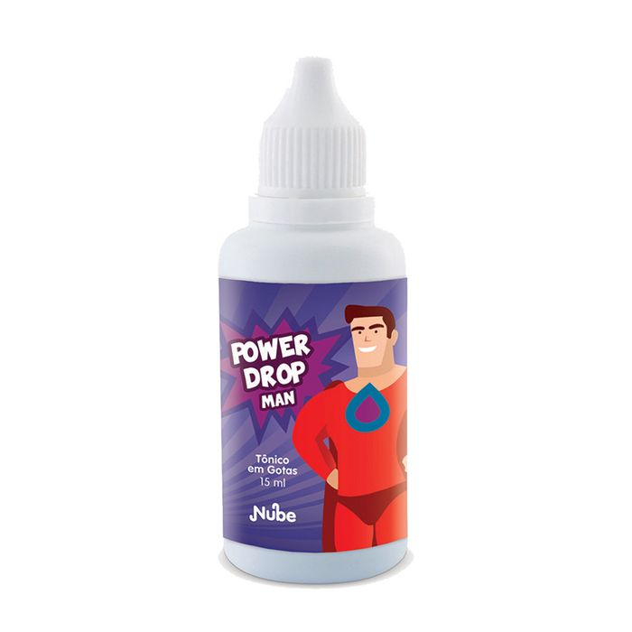Tônico Estimulante Masculino Power Drops Man - Nube - 15ml