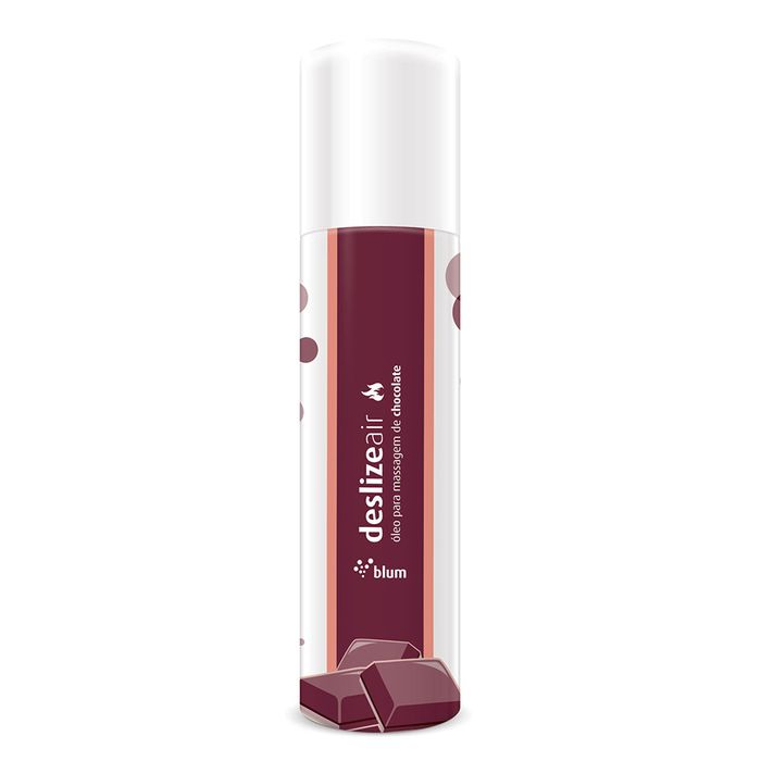 Spray Corporal Beijável Deslize Air Blum 166ml - Chocolate