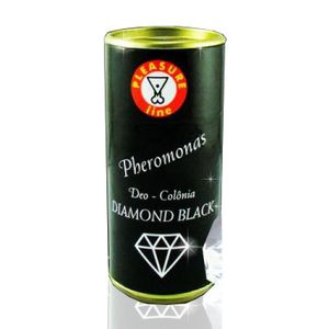 Deo Colônia Perfume Afrodisíaco Masculino Pheromonas Diamond Black 20ml - Pleasure Line