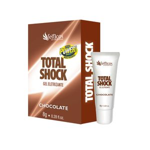 Gel Vibrador Liquido Total Shock 8g - Chocolate