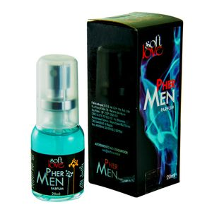 Perfume Masculino Pher Men Soft Love 20ml