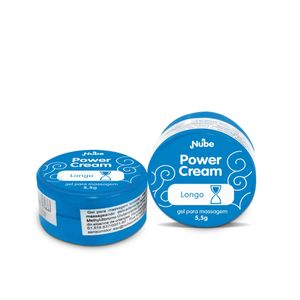 Pomada Retardante Masculino Power Cream Longo 5,5g