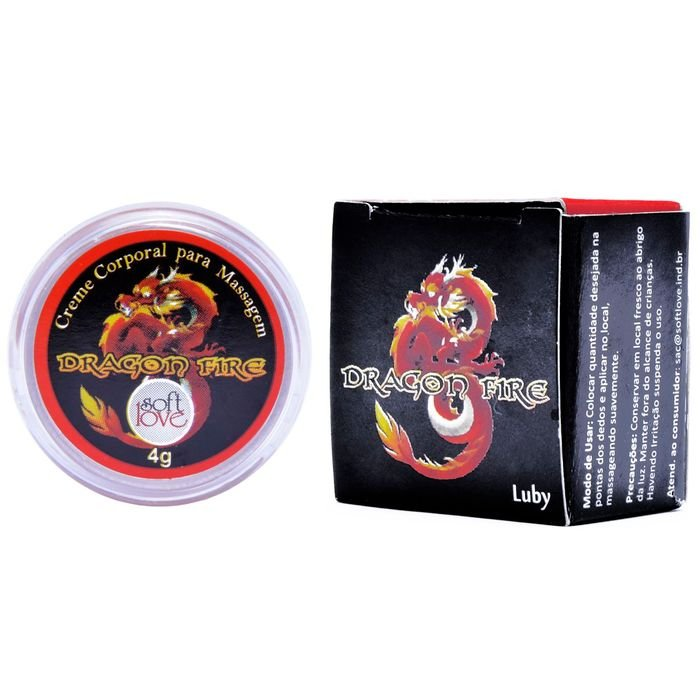 DRAGON FIRE LUBY 4GR SOFT LOVE