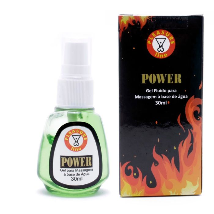 POWER RETARDANTE DE EREÇAO MASCULINA 30 ML PLEASURE LINE