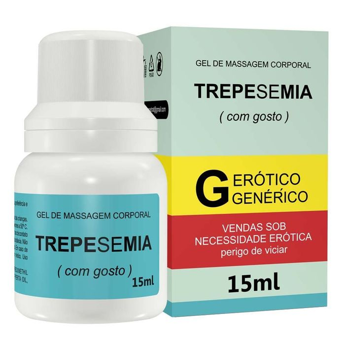 Trepesemia Gel Para Massagem 15ml Secret Love