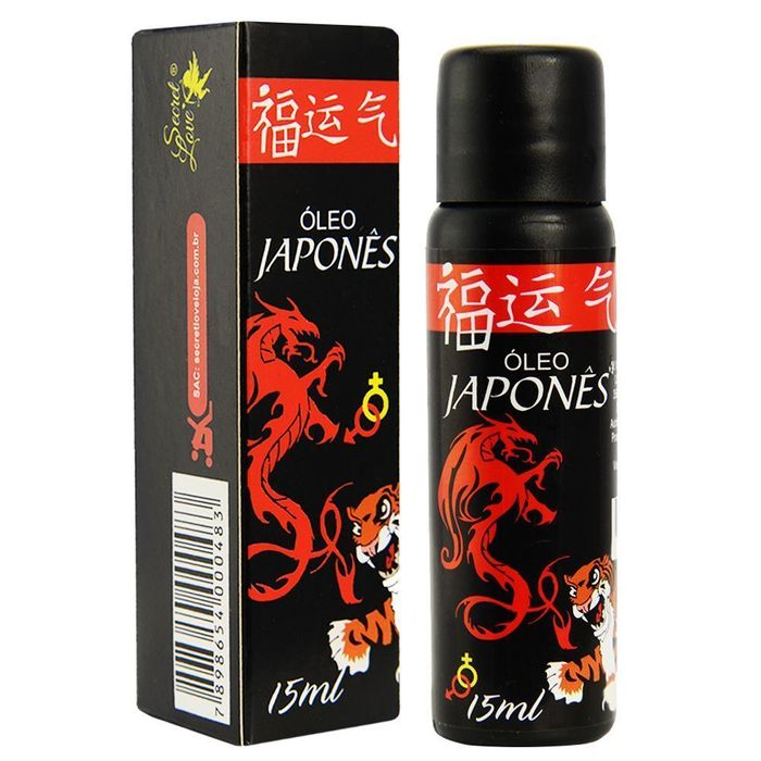 óleo Japonês Hot 15ml Secret Love
