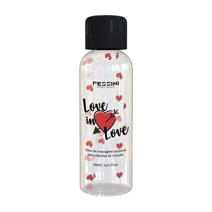Love In Love óleo De Massagem 60 Ml Pessini