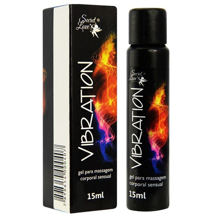 Vibration Gel Eletrizante 15ml Secret Love