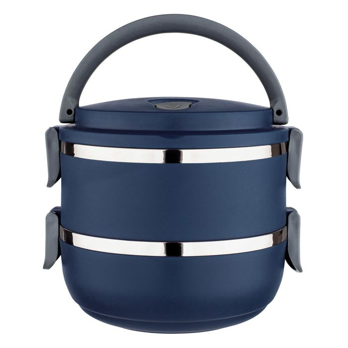 Marmita Lunch Box Azul Euro