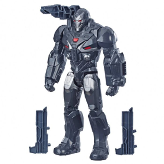 BONECO WAR MACHINE - VINGADORES ULTIMATO - TITAN HERO - DISNEY - MARVEL - HASBRO