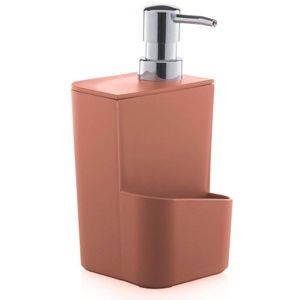 Dispenser Para Detergente 650ML Terracota  Ou