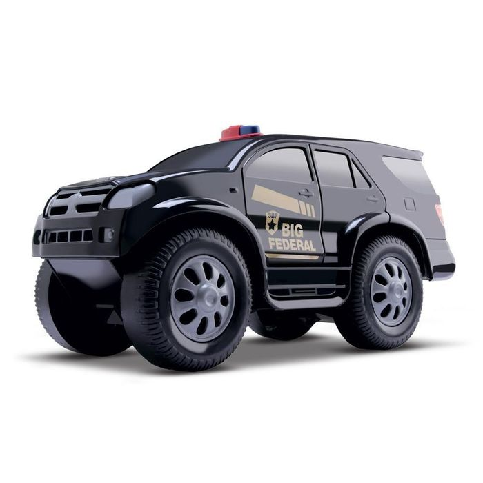 CARRINHO PICK-UP BIG FEDERAL SPEED POLICE - SAMBA TOYS