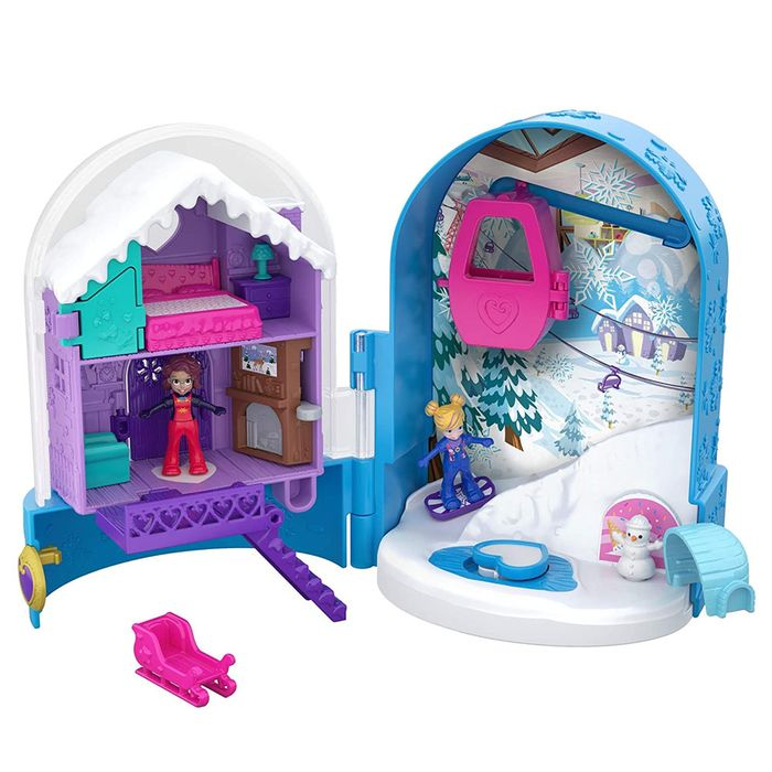 Polly Pocket Mini Mundo de Aventura-Mattel