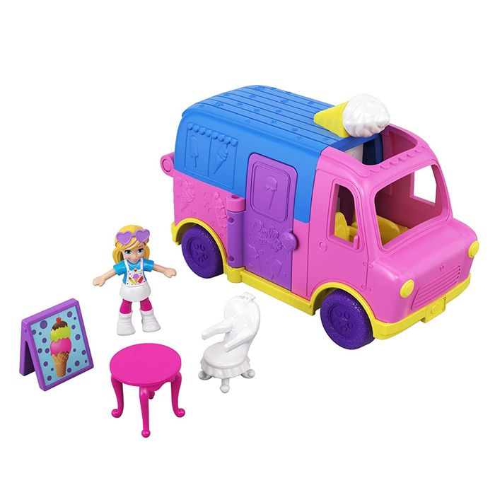 Polly Pocket Pollyville Caminhão - Mattel
